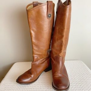 Leather Frye riding boots size 6